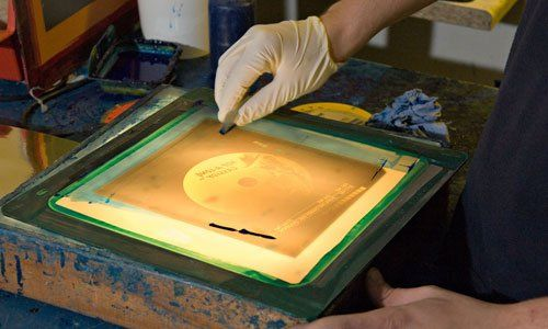 Screen printing services | The Hand Bench Screen Print