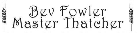 Bev Fowler Master Thatcher logo