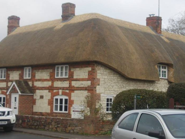 Thatching work by Bev Fowler