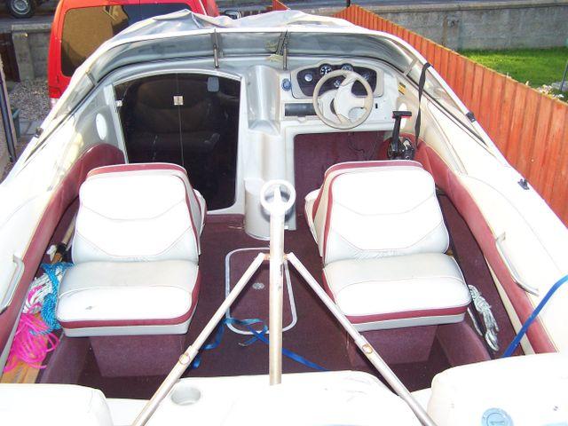 A small motor boat