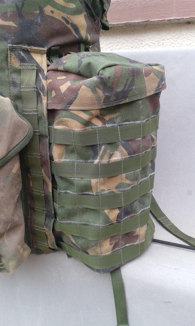 Military rucksack attachment