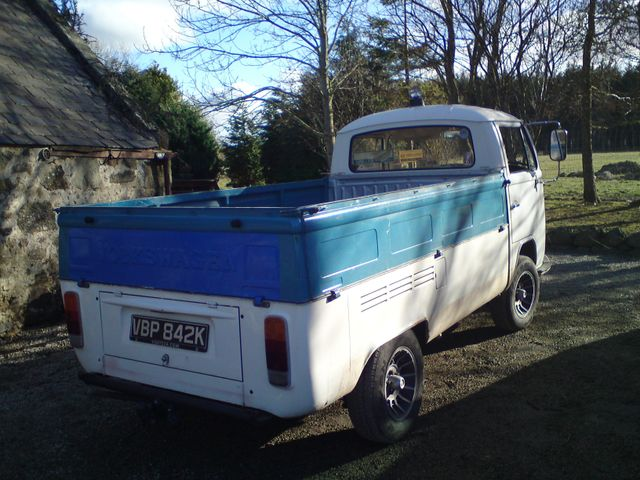 A VW Transporter