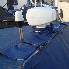 Quality boat cover repairs
