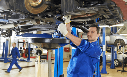 Professional vehicle repairs
