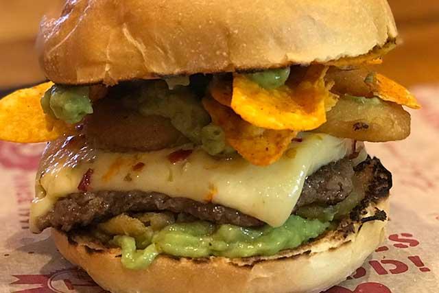 Firecracker Burger Burger of the Month - Georgie Porgies