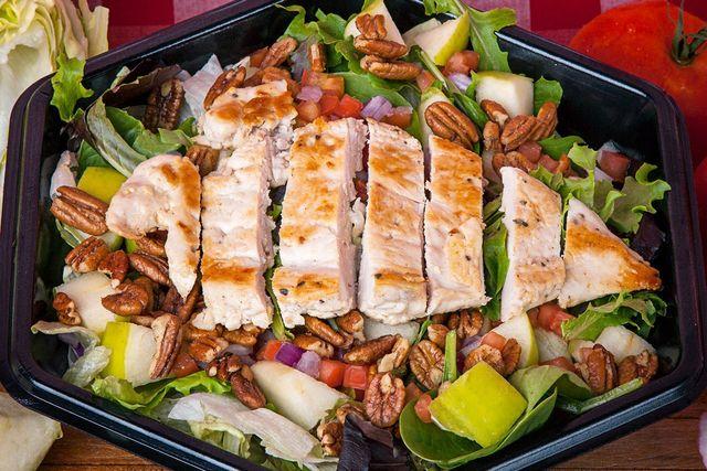 Apple Pecan Salad - Georgie Porgies