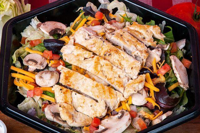 Chicken Garden Salad - Georgie Porgie