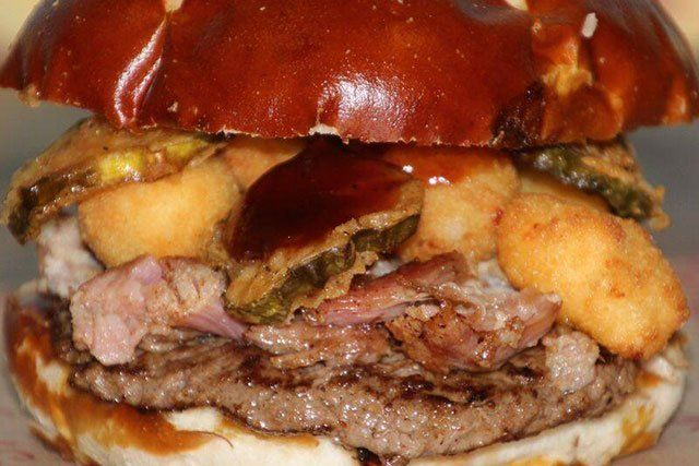 The Pudgie Porker Burger of the Month - Georgie Porgies