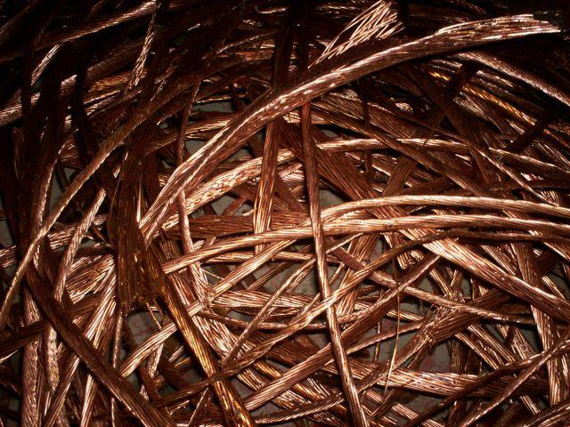 Dry Bright Copper Wire