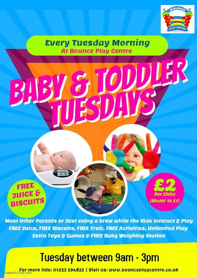 Bounce Play Centre | Indoor Playground | Blackpool