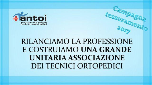 associazione albo nazionale tecnici ortopedici italiani