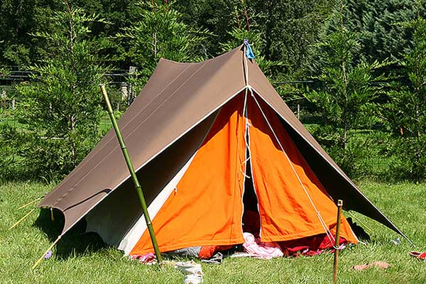 Camping pitch in Gargnano