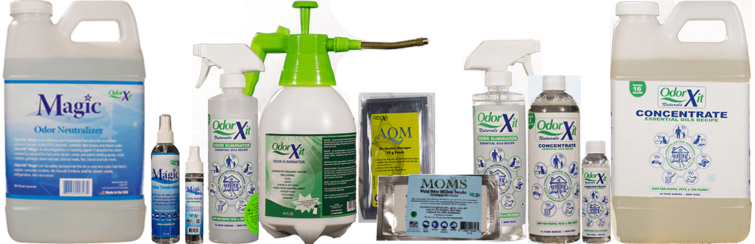 complete line of odorxit products