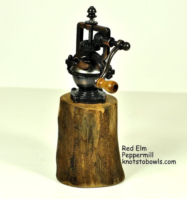 Peppermill - Crank Style Red Elm