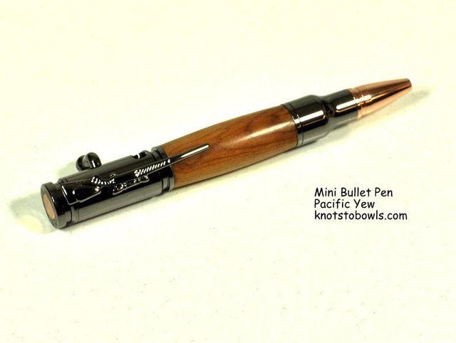 Mini Bullet Pen - Pacific Yew