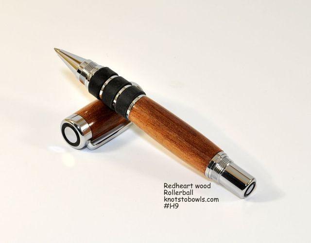Rollerball pen - redheart wood