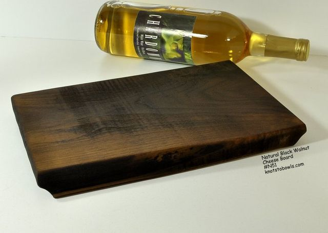Black Walnut Cheese - Cutting board