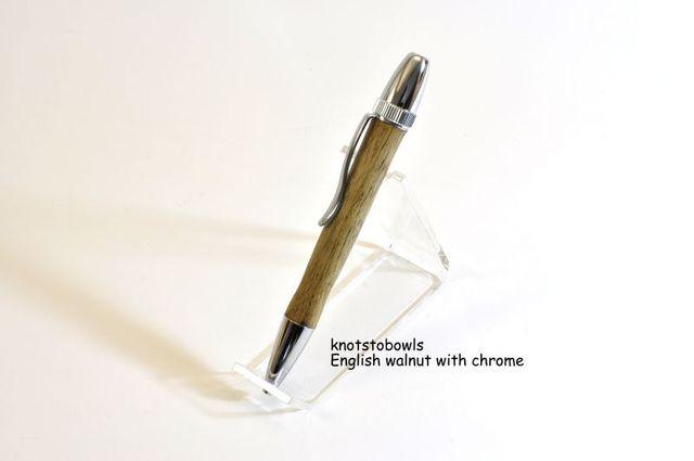 Ballpoint style English Walnut pen