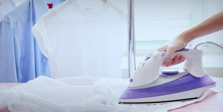 cloth ironing