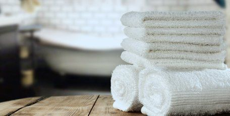hair dresser towels after cleaning