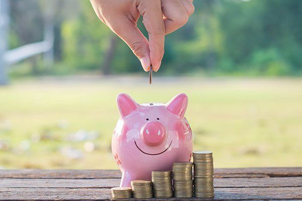 Risparmiare denaro per il futuro