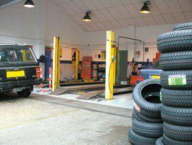 Car servicing - Bridgend, Scotland - Broadcroft Tyres & Exhaust Centre Ltd - Garage