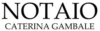 NOTAIO GAMBALE CATERINA - LOGO
