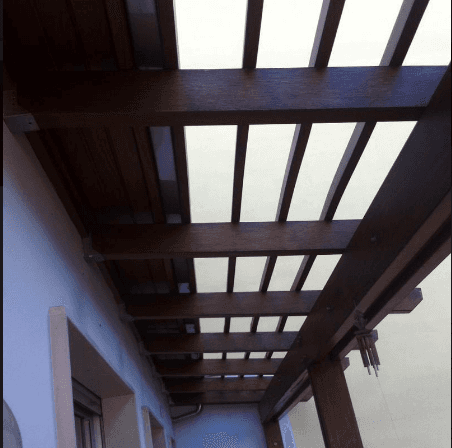 Coperture in legno ad Andria