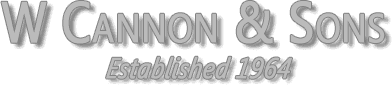 W Cannon & Sons logo