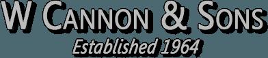 W Cannon & Sons logo