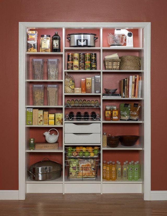 Kitchen Pantry Organizer Systems Design & Installation
