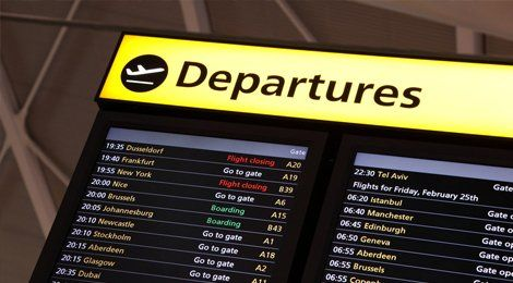 All UK airports and seaports