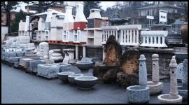 canalizzazioni, trattamento acque, caminetti esterni