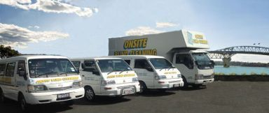 Onsite Venetian Cleaning - Mobile Cleaning Truck