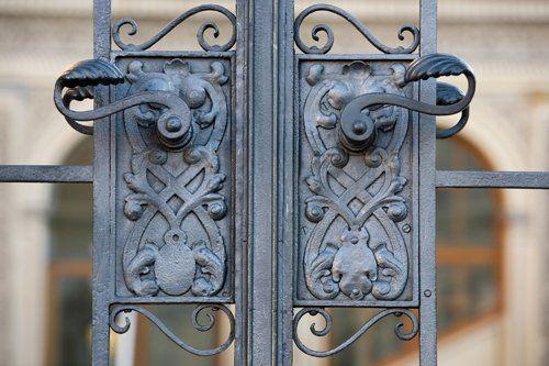 Cancello in ferro a Cuneo