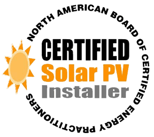 Certified Solar PV Installer logo