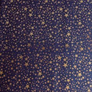 art.123 - rotolo cielo metallizzato oro