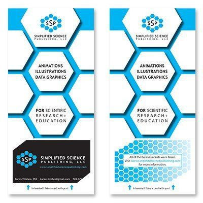 Brochure design by Simplified Science Publishing.
