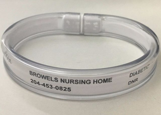 Browels Id Solutions Id Bracelets For Care Homes