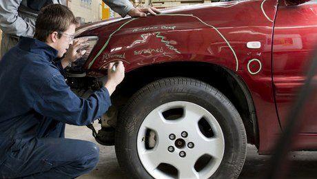 car body repairs