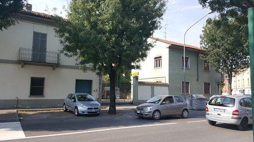 parcheggio dell'albergo