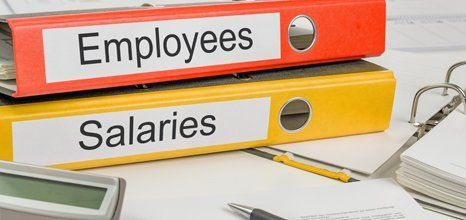 records of employees and salaries