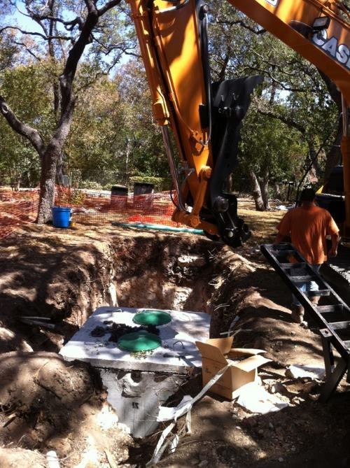 Carl Eoff Septic install