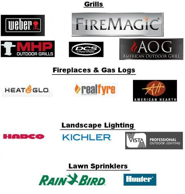 We are authorized dealers of: