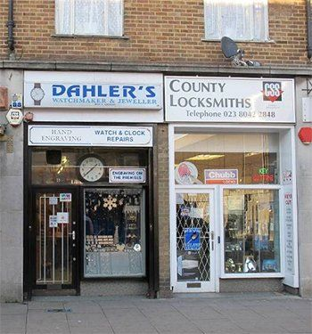 Dahlers Jewellers store