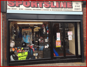 Sportsline: Your local Sports & Schoolwear Stockist
