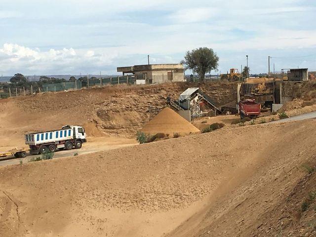 scavo e movimento terra stm sabbia Acate