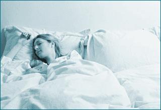 donna mentre dorme