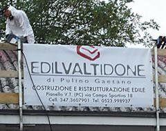 banner con logo dell'azienda