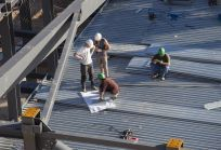 One of our commercial roofing contractor jobs in Toccoa, GA